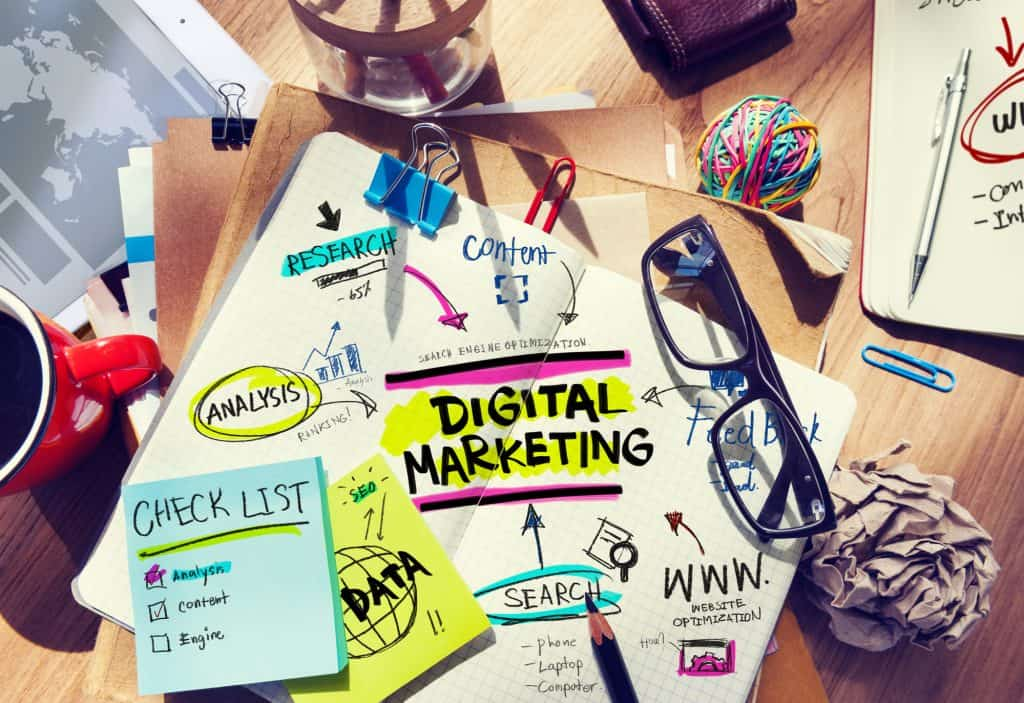 digital marketing checklist and planning Schure Consulting